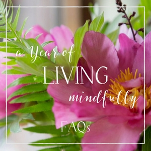FAQs YEAR OF LIVING MINDFULLY (mailchimp)
