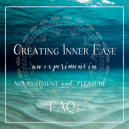 Creating inner ease FAQs new (1)