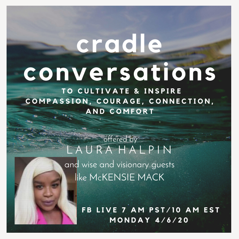 Cradle conversations FB McKensie